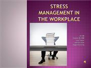 Stress+Management+in+the+Workplace