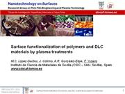 Surface functionalization of polymers an