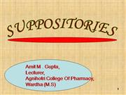 SUPPOSITORIES+PPT
