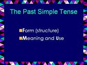 The+Past+Simple+Tense