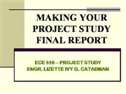 PROJECT FINAL REPORT TECHNICAL PAPER