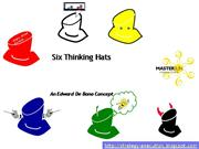Six Thinking Hats  for Effectiveness