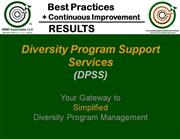 Diversity Program Management Services