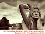 Strategy Half Truths About Consumer