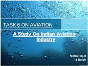 current scenario of aviation industry