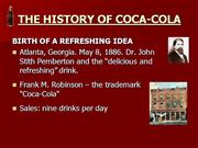 The+history+of+Coca-cola