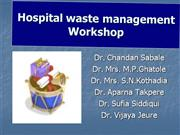 Hospital  Waste  Management