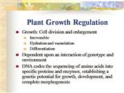 plant growth and development and plant s