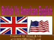 British Vs American PART TWO