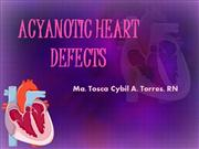 ACYANOTIC HEART DEFECTS
