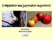 Comparative+and+Superlative+Adjectives+