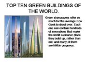 TOP+TEN+GREEN+BUILDINGS+OF+THE+WORLD