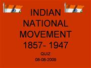 INDIAN+NATIONAL+MOVEMENT+1857-+1947