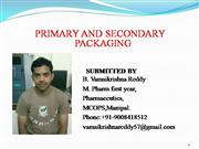 Primary packaging  and second packaging