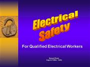 Electrical Safety Qualified
