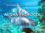 ALOHA PROTOCOL