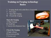 Forging Technology