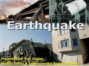 Earthquake+Presentation