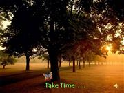 Take Time Inspirational Slides