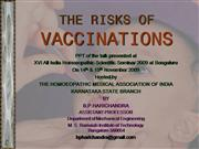 RISKS OF VACCINES