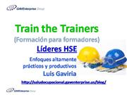 Train the Trainers Lideres HSE
