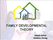 Family Developmental theory