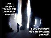 Don>t+Compare+Yourself