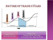 PPT ON TRADE CYCLE