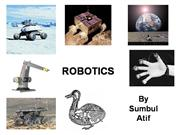 Robotics presentaion.