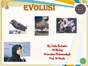 EVOLUSI SMA kelas XII