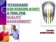 STANDARDS+AND+NURSING+AUDIT+PPT+