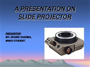 SLIDE+PROJECTOR+PPT+