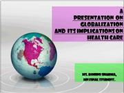 globalization and its implications on healthcare n