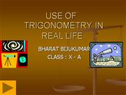 TRIGONOMETRY+IN+REAL+LIFE