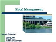 Hotel Management PPT