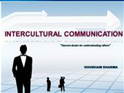 INTERCULTURAL+COMMUNICATION