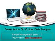 Project Management Using Critical Path Method