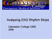 Analyzing EKG Rhythms