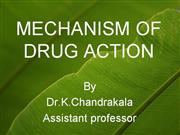Mechanism+of+drug+action