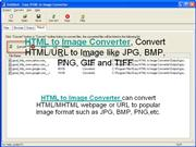 HTML to Image Converter, Convert HTML/URL to Image like JPG, BMP, PNG
