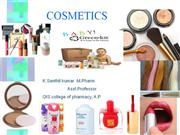 pharmaceutical cosmetics