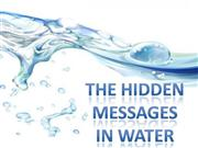 the hidden mesages in water