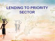 priority sector banking