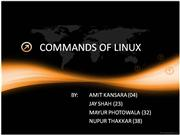 COMMANDS+OF+LINUX