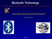 Bluetooth+Technology