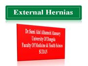 external hernias