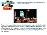 hotels near hollywood walk of fame