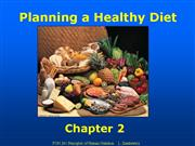 Planning a Healthy Diet chapte