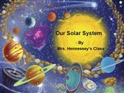 Our Solar System Class Show Hennessey