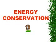 EnergyConservation by Dhawal